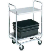 Vollrath, Thrift-I-Cart, 97160, 400 Lb. Capacity, 2 Shelf
