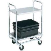 Vollrath, Thrift-I-Cart, 97161, 500 Lb. Capacity, 2 Shelf