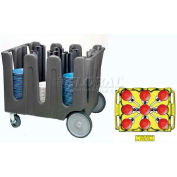 """Vollrath, Traex Adjustable Dish Caddy, ADC-10, For Dish Sizes: 5-1/2"""" - 7-1/8, 10 Divider"""