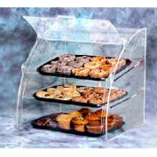 Acry Fab, Euro-Curved Bakery Case, EMBC-2, Medium, Front And Rear Doors