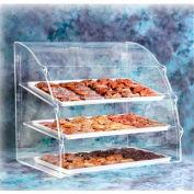Acry Fab, Euro-Curved Bakery Case, ESBC-1, Small, Rear Doors