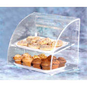 Acry Fab, Euro-Curved Bakery Case, ESBC-2, Small, Front & Rear Doors