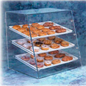 Acry Fab, Angled Bakery Case, LBC, Large, Front & Rear Doors