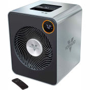 Vornado Whole Room Heater VMH600, 750/1500W, With Remote, Stainless Steel