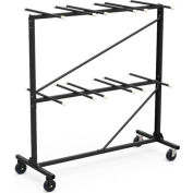 Virco HCT6072 Two Tier Mobile Chair Cart