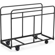 Virco HRTT1 Upright Mobile Table Cart
