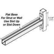 "Versabar 6"" Channel Bracket W/Flat Plate Base - Pkg Qty 10"