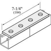 """Versabar 4 Hole Flat Plate, 1-5/8"""" X 7-1/4"""" - Pkg Qty 50"""