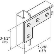 "Versabar 4 Hole Flat L Plate, 3-1/2"" X 5-3/8"" - Pkg Qty 50"