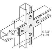 """Versabar 5 Hole Cross Plate, 5-3/8"""" X 5-3/8"""" - Pkg Qty 50"""