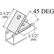 Versabar 2 Hole 45 Degree Closed Angle - Pkg Qty 50