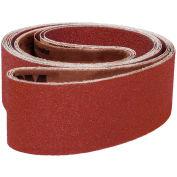 "VSM Abrasive Belt, 16378, Aluminum Oxide, 3"" X 168"", 120 Grit - Pkg Qty 10"