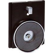 "Wall Mount Retracta-Belt®, 4-3/4"" H Black Magnet/Clip Mount Plate for WM412"
