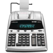 """Victor® 12-Digit Calculator, 12403A, 2 Color Printing, Cost Margin, 9"""" X 12-1/4"""" X 3"""", White"""