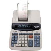 "Victor® 12-Digit Desktop Calculator, 26402, 2 Color Printing, 8"" X 11-1/4"" X 3"", White"
