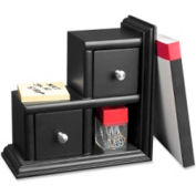 """Victor Tech Reversible Bookends 10-1/2"""" High Black 1 Pack"""