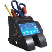 Victor Tech Smart Charge Pencil Cup with USB Hub Black