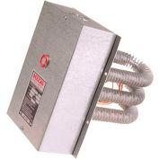 "Vulcan Finned Tubular Air Duct Heater VFT1212-16C 16000W 480V 32"" x 7-7/8"""