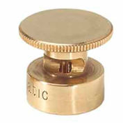 Weathermatic B3-H-LA Brass Half-Circle Sprinkler Nozzle, 3' Radius