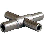 Wal-Rich® 0421004 4-Way Sillcock Key - Pkg Qty 30