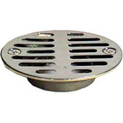 """Wal-Rich® 0522008 2-1/2"""" Chrome-Plated Brass Shower Stall Strainer - Pkg Qty 7"""