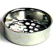 "Wal-Rich® 0528006 Ketchall Wash Tray Strainer, 1-1/2"" Diameter - Pkg Qty 120"