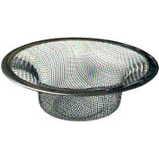 "Wal-Rich® 0529502 Stainless Steel Mesh Strainer, 4-1/2"" Diameter - Pkg Qty 42"