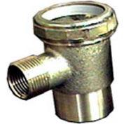 """Wal-Rich® 1512002 Slip Jt. Cast Brass Washing Machine Tee, 3/4"""" MIP x 1/2"""" FIP - Pkg Qty 10"""