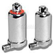 "Wal-Rich® 1700106 1/4"" chrome-plated radiator air vents - Pkg Qty 12"