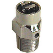 "Wal-Rich® 1701202 1/8"" Combination Coin/Key Air Valve - Pkg Qty 96"