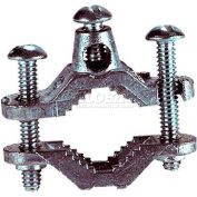 """Wal-Rich® 2201002 1/2""""-1"""" Grounding Clamps For Water Pipe - Pkg Qty 15"""
