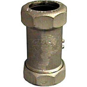 """1"""" Dresser™ Style 65 Long Galvanized Compression Fittings For Steel Pipe - Pkg Qty 4"""