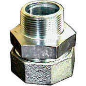 """1"""" Dresser Style 65 Galvanized Compression Fitting MLE Adapter For Steel - Pkg Qty 3"""