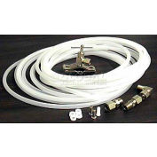 Ice Maker Kit 25' 1/4 in. Copper Tube W/Compression Elbow & Extra Fittings - Pkg Qty 2