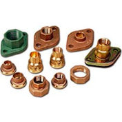 "Freedom Flange Set, 3/4"" Sweat, Bronze"