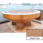Wausau SL4036 Round Outdoor Planter - Weatherstone Sand 96x38