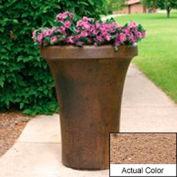 Wausau SL4091 Round Outdoor Planter - Weatherstone Sand 24x36