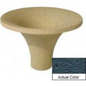 Wausau SL470 Round Outdoor Planter - Weatherstone Charcoal 36x24