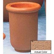 Wausau TF4050 Round Outdoor Planter - Weatherstone Sand 18x24