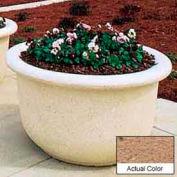 Wausau TF4065 Round Outdoor Planter - Weatherstone Sand 60x42