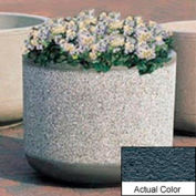Wausau TF4085 Round Outdoor Planter - Weatherstone Charcoal 30x30