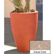 Wausau TF4086 Round Outdoor Planter - Weatherstone Buff 30x42