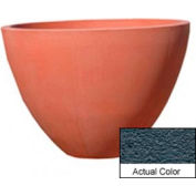 Wausau TF4122 Round Outdoor Planter - Weatherstone Charcoal 48x36