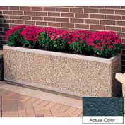 Wausau TF4169 Rectangular Outdoor Planter - Weatherstone Charcoal 66x18x30