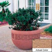 Wausau TF4220 Round Outdoor Planter - Weatherstone Sand 36x24