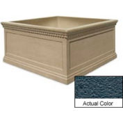 Wausau TF4237 Square Outdoor Planter - Weatherstone Charcoal 72x72x36