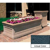 Wausau TF4238 Rectangular Outdoor Planter - Weatherstone Charcoal 72x36x24
