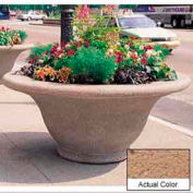Wausau TF4302 Round Outdoor Planter - Weatherstone Sand 80x35