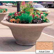 Wausau TF4302 Round Outdoor Planter - Weatherstone Cream 80x35