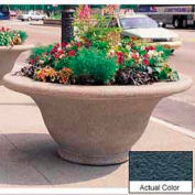 Wausau TF4302 Round Outdoor Planter - Weatherstone Charcoal 80x35